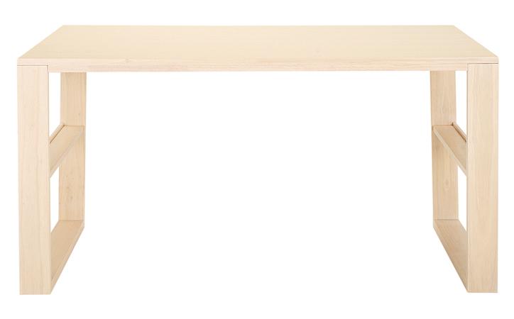 DT-06-140 ダイニングテーブル ホワイトウォッシュ 詳細1