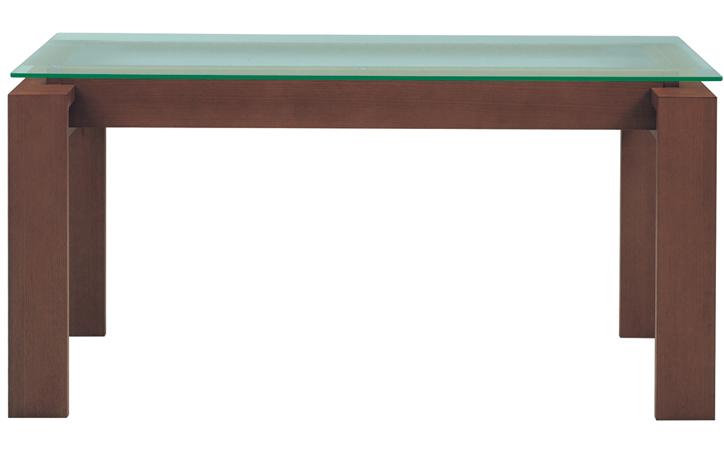 DT-18-150 ダイニングテーブル モカブラウン 詳細1