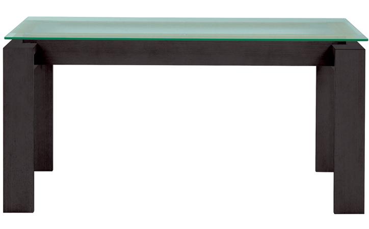DT-18-150 ダイニングテーブル ウッディブラック 詳細1