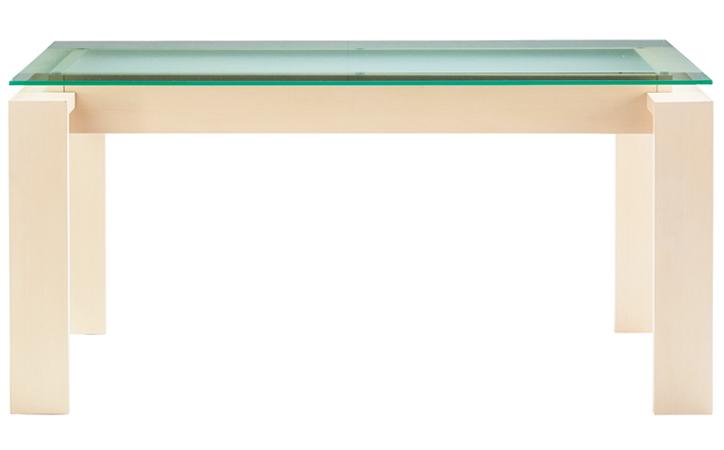 DT-18-150 ダイニングテーブル ホワイトウォッシュ 詳細1