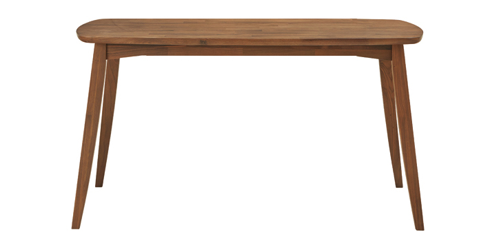 DT-10-W150 ダイニングテーブル ウォールナット 詳細1