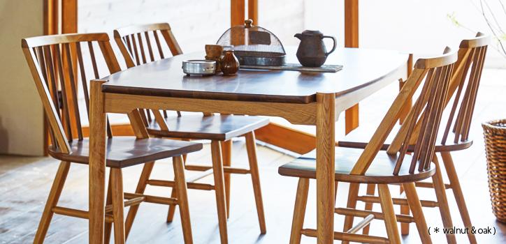 ダイニングテーブル DT-12-150 詳細2