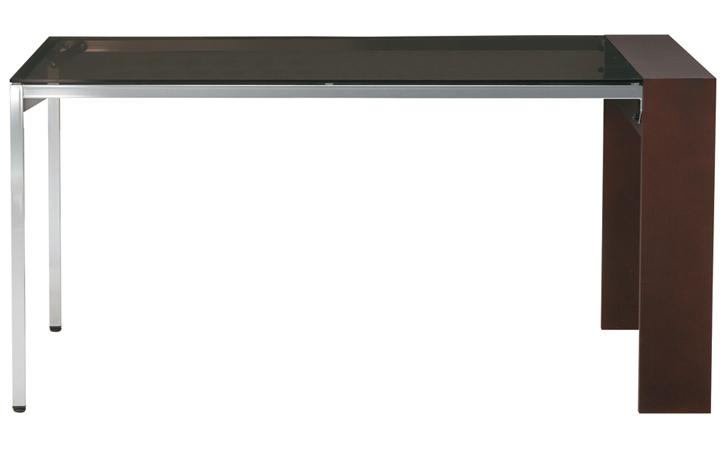 DT-14-M145 ダイニングテーブル ダークブラウン 詳細1