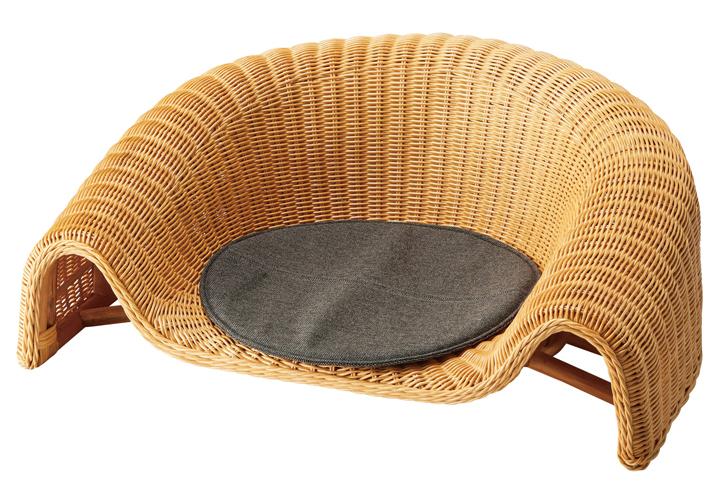 ラタン座椅子 01