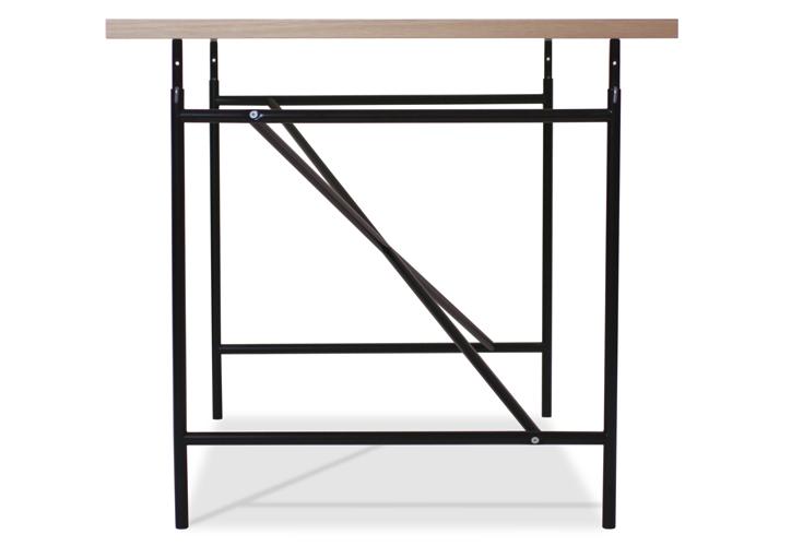 アイアーマンテーブル 1600幅 ブラック 詳細10