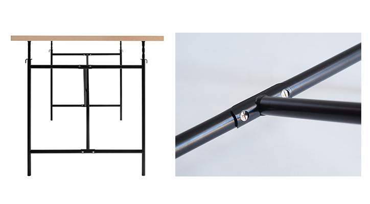 アイアーマンテーブル2 ブラック 詳細8