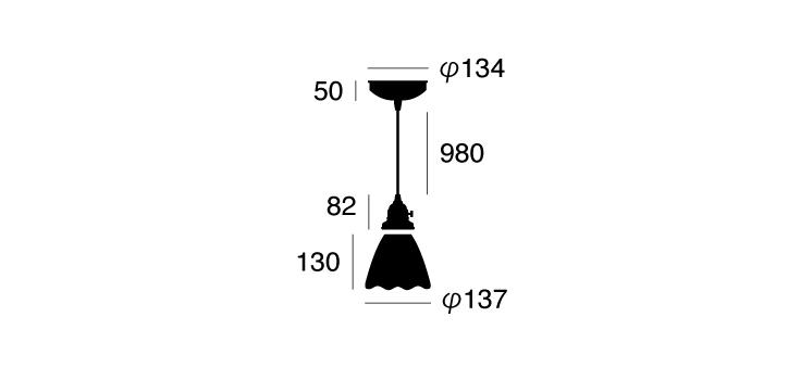 AW-0373 ステンドガラスペンダント ドッツ 詳細8
