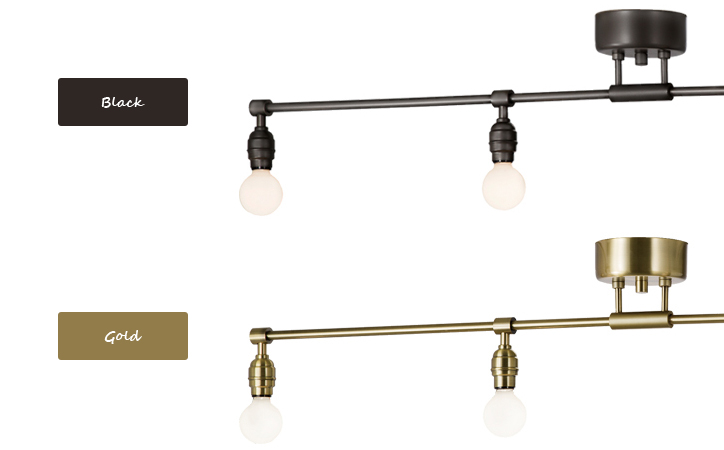 AW-0460 Laiton 4 ceiling lamp 詳細4