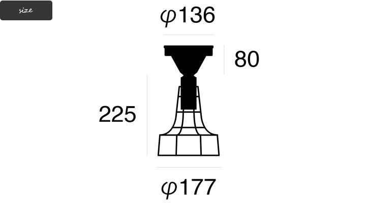 AW-0476 Polygonal ceiling B 詳細8