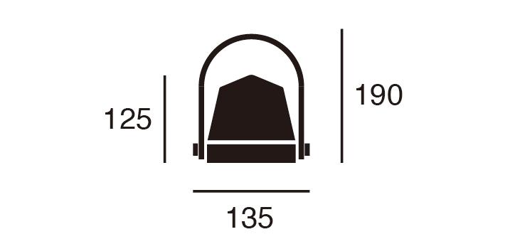 AW-0535 キャラバンLEDランタン 詳細7