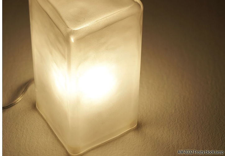 AW-0332 Frosty block lamp 6