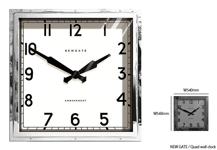 TR-4253 Quad wall clock (L) 6