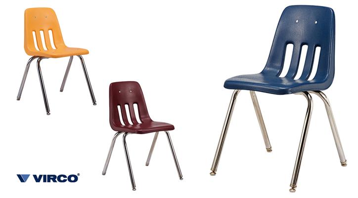 TR-4226 VIRCO 9000 Chair 詳細1