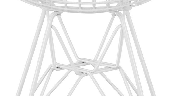 イームズワイヤーチェアDKR ホワイト 05