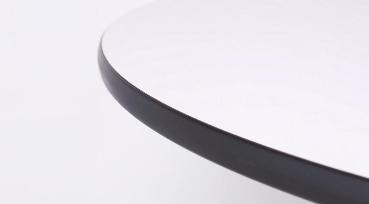 イームズコントラクトベーステーブル ラウンド ブラック 詳細4