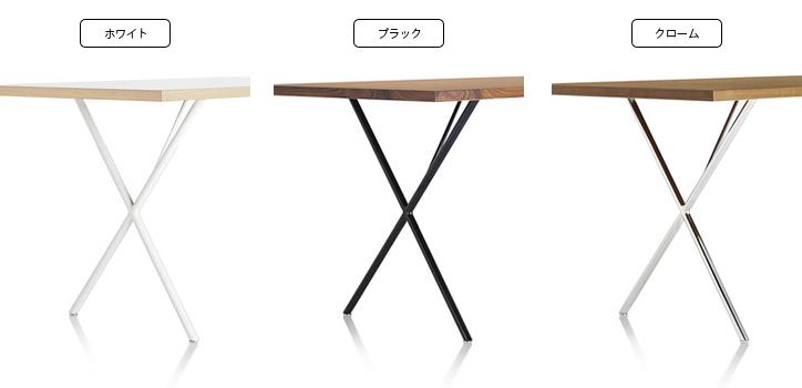 ネルソンXレッグテーブル スタジオホワイト 詳細6