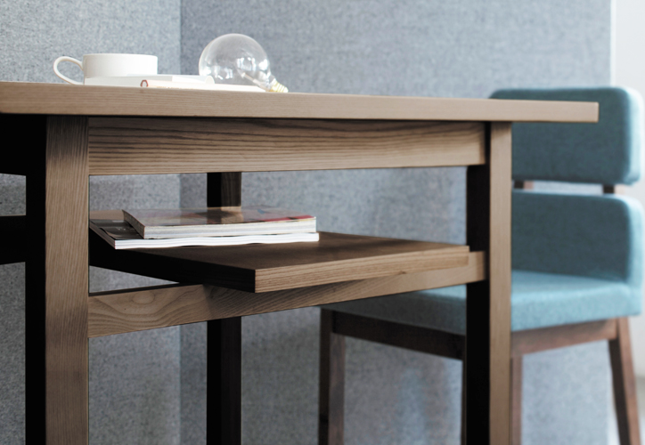 SVE-DT001 frame dining table 3