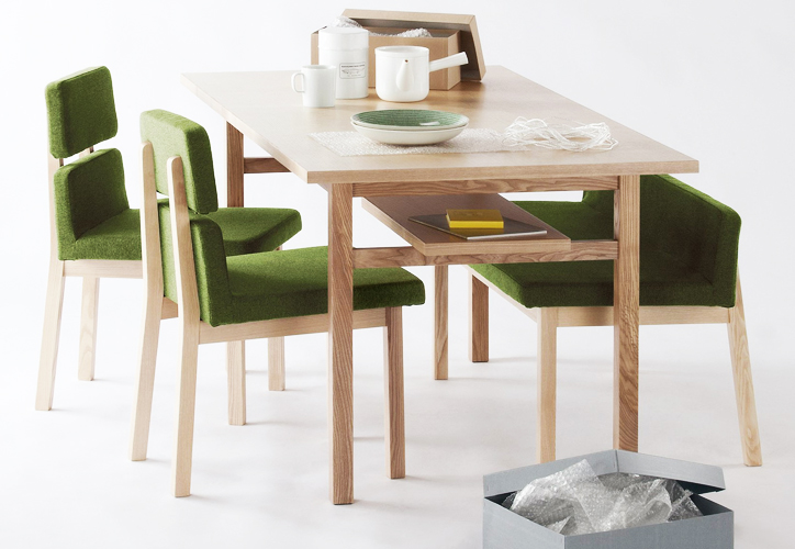 SVE-DT001 frame dining table 8