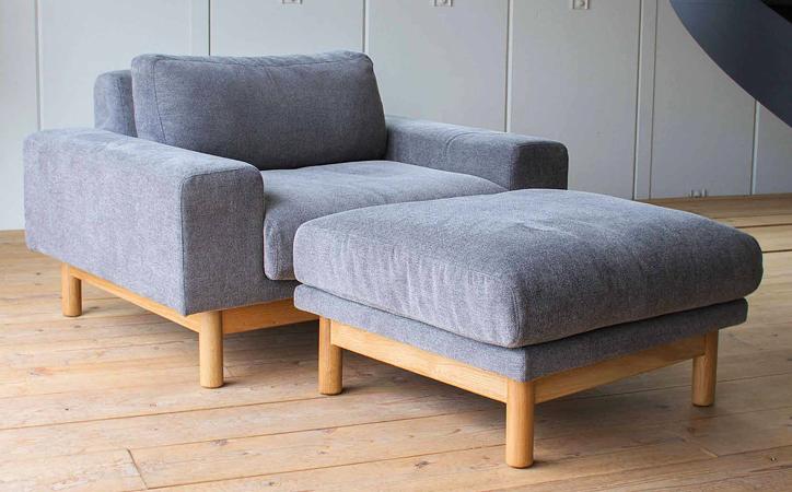 SVE-SF012O bulge sofa ottoman 詳細4