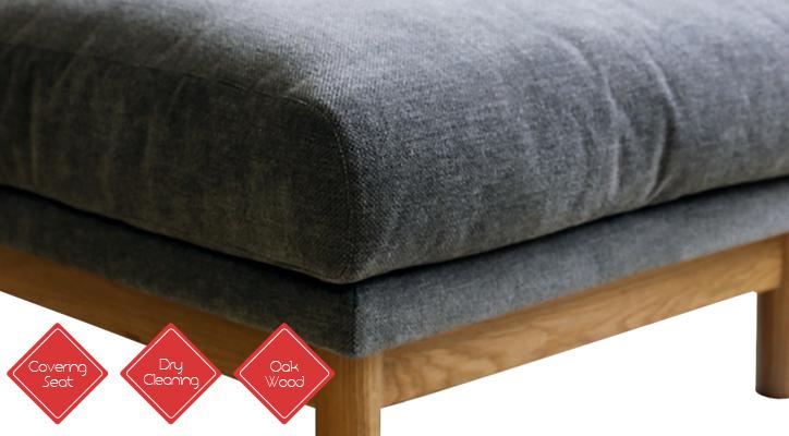 SVE-SF012O bulge sofa ottoman 詳細5