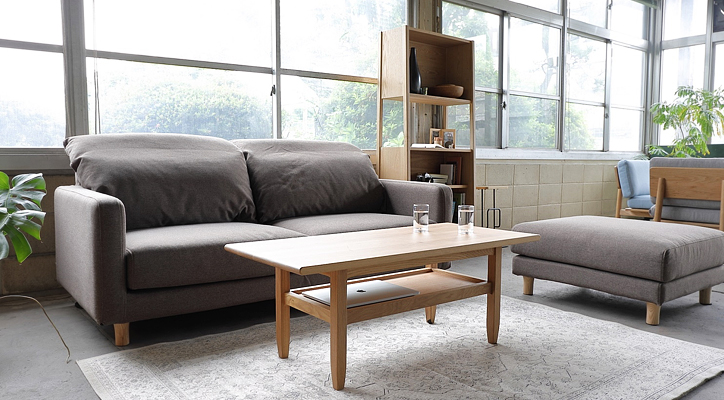 SVE-SF017M bend sofa 2 seater 詳細1