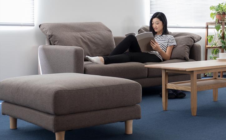 SVE-SF017O bend sofa ottoman 詳細3