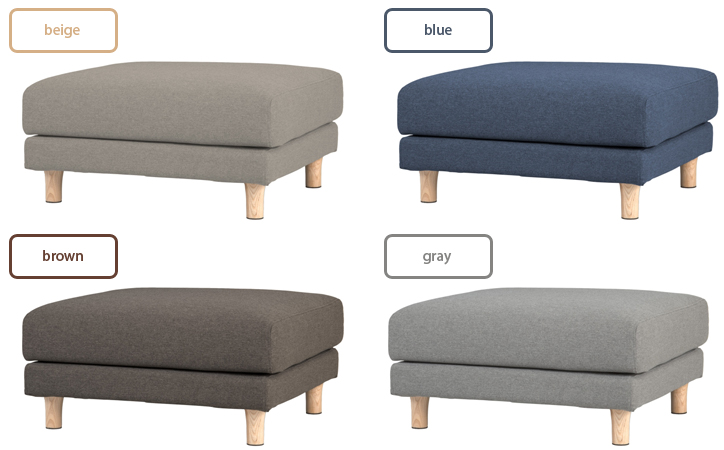 SVE-SF017O bend sofa ottoman 詳細9